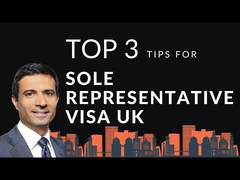 Top 3 Tips for Sole Representative Visa UK | A Y & J Solicitors