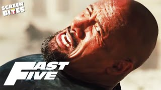 Dwayne Johnson as Agent Hobbs   The Rock in Fast & Furious   Fast Five   SceneScreen