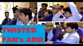 Sonu Nigam twists fan's arm while taking selfie!..