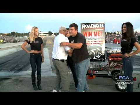 Hellcat Giveaway Drag Race