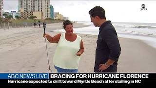 ABC News Live: Hurricane Florence, Supreme Court nominee, Obama stumps in Ohio