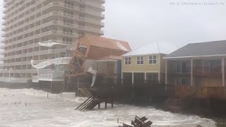 Building collapses as Hurricane Michael lashes Florida
