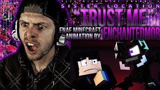 "Vapor Reacts #558 | FNAF SL SONG MINECRAFT ANIMATION ""Trust Me"" Music Video by EnchantedMob REACTION"