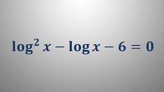 Logaritemska enačba 14