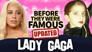 LADY GAGA   Before They Were Famous   A Star Is Born Biography UPDATED