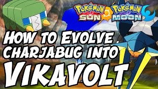 How to Evolve Charjabug into Vikavolt in Pokémon Sun and Moon