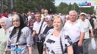Накануне жители региона вместе со всей страной отметили Крещение Руси