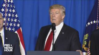 WATCH: Trump speaks about actions to build border wall, cut sanctuary city funds