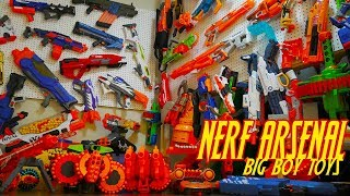 Our Nerf Arsenal