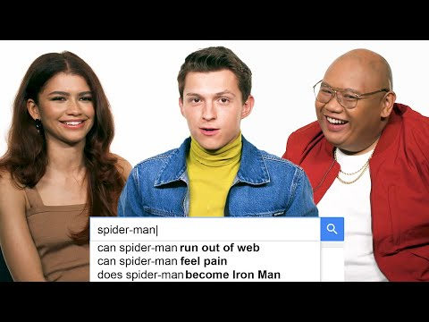 Tom Holland, Zendaya & Jacob Batalon Answer the Web's Most Searched Questions | WIRED