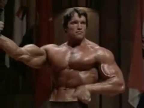 Arnold Schwarzenegger competition 1975 - YouTube