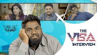 The Visa Interview | by Sabarish Kandregula | VIVA