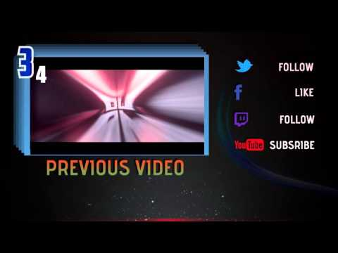 Top 3 Free Outro Templates After Affects Sony Vegas Movie