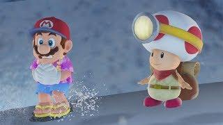 Super Mario Odyssey - All Captain Toad Locations