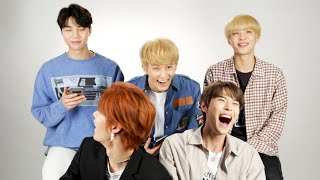 """NCT 127 Takes BuzzFeed's """"Which NCT 127 Member Are You?"""" Quiz"""