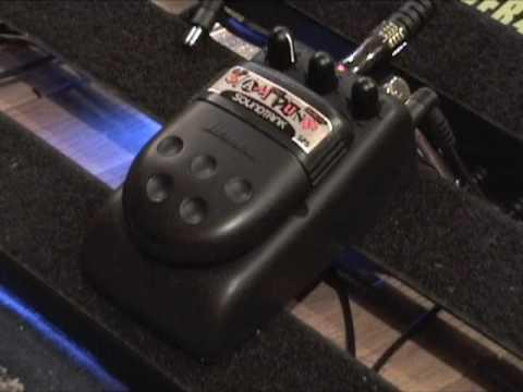 Ibanez Sound Tank SP5 Slam Punk guitar effects demo