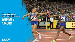 Women's 4x400m Relay Final | World Athletics Championships London 2017