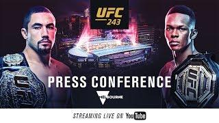 UFC 243: Press Conference