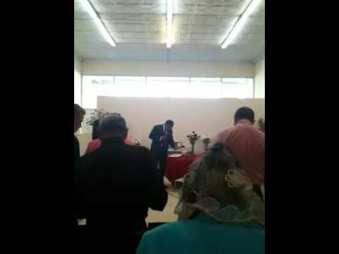 Apostolic assembly rev Ricardo aguilar preaches in imperial