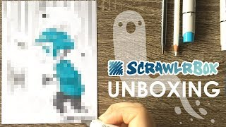 DRAWING GHOSTS - April 2017 ScrawlrBox Unboxing
