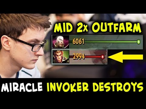 Miracle INVOKER 100% OUTPLAYS mid Monkey King