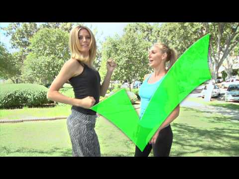 Heidi Klum on AOL with Andrea Orbeck - Fine Tune Your Form