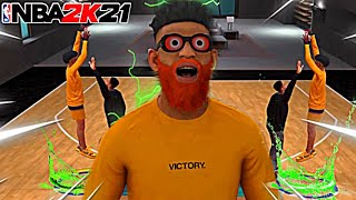 I USED THE HIGHEST VERTICAL JUMPSHOT ON NBA2K21 and became UNSTOPPABLE!