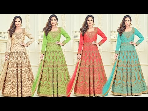 Bollywood Heroines Gown Dresses | 2017 Latest Bollywood Fashion Trends Celebrity Style Suits Designs