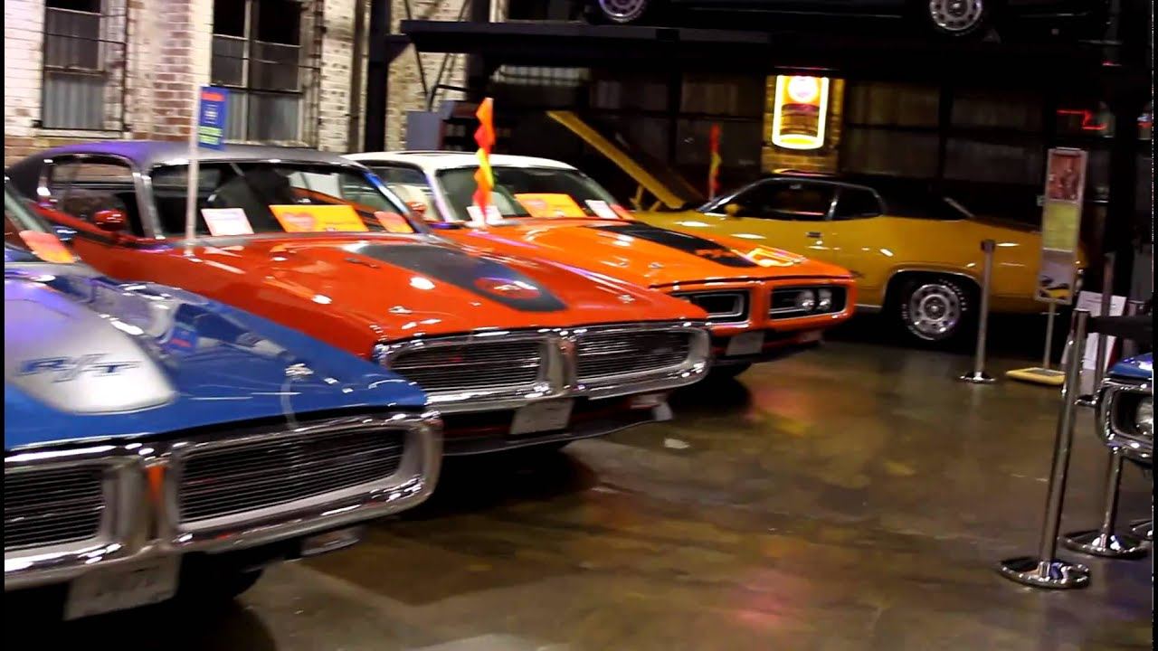 Rochester Auto Museum Classic Muscle Cars: Wellborn Muscle Car Museum