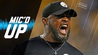 Cowboys vs. Steelers | Mike Tomlin Mic'd Up vs. Cowboys (Week 10)| Sound FX | NFL Films