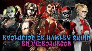 LA EVOLUCIÓN DE HARLEY QUINN EN LOS VIDEOJUEGOS - MaxiLunaPMY