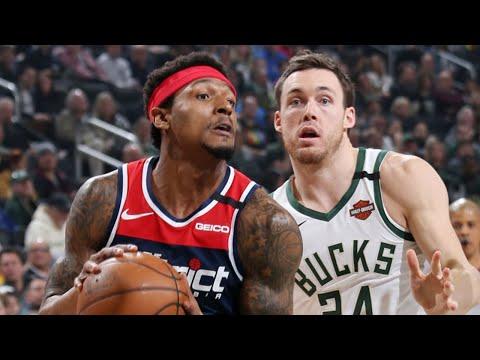 Milwaukee Bucks vs Washington Wizards Full Game Highlights | January 28, 2019-20 NBA Season