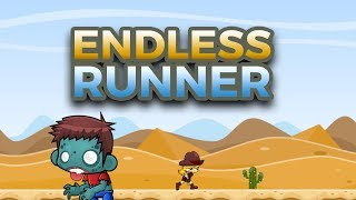 Endless Runner 2D mit Unity programmieren - Deutsch/German