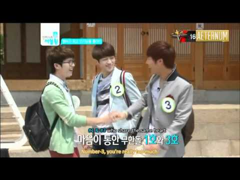 [ENG SUB] 120523 MNet Ranking King Episode 1 (Part 1)