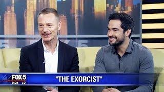 ALFONSO HERRERA & BEN DANIELS | GOOD DAY NY | FOX5