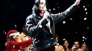 Michael Jackson talks at