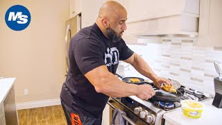 What Pro Bodybuilders Eat for Breakfast | Fouad Abiad (The Sequel)
