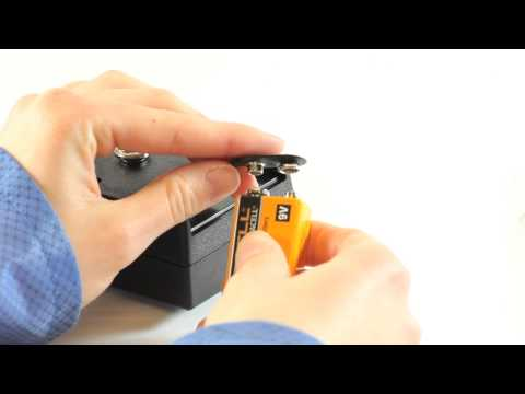 Replacing the battery for the PCS-730 Charging Source