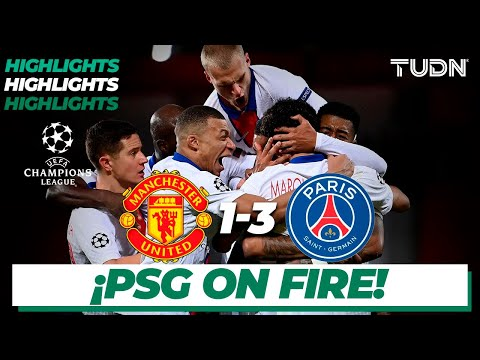 Highlights | Man United 1-3 PSG | Champions League 2020/21-J5 | TUDN