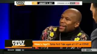 FIRST TAKE - FLOYD MAYWEATHER ON FIGHTING TERENCE CRAWFORD AND ERROL SPENCE