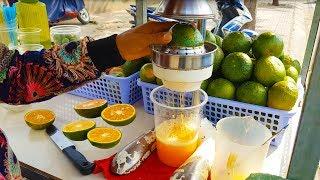 Khám phá thiên đường bán cam ép vỉa hè lớn nhất Sài Gòn | street food of saigon