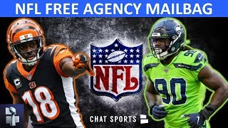 Jadeveon Clowney Destinations? Todd Gurley Trade? AJ Green? Melvin Gordon? | NFL Rumors Mailbag