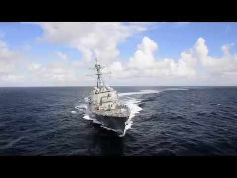 John Finn (DDG 113) First Builder's Sea Trials