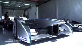 Formula e electric formula one tested by Ho Pin Tung