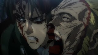 Levi vs Beast Titan Round 3 {Full Fight}