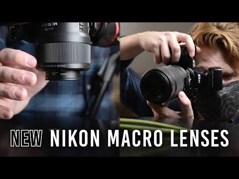 Nikon Z Macro Lenses: Nikkor Z MC 105mm f/2.8 VR S & Nikkor Z MC 50mm f/2.8   Hands-on Review