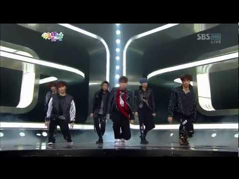 [HD]121229 SBS Gayo Daejun - The SM Performance - Yunho, Eunhyuk, Donghae, Minho, Taemin, Lay, KAI