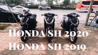 HMT - Honda sh 2020 so kè cùng  honda sh 2019