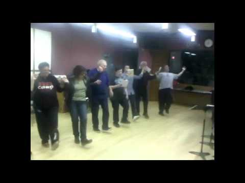 Fiddler on the Roof Yiddish rehearsal.wmv