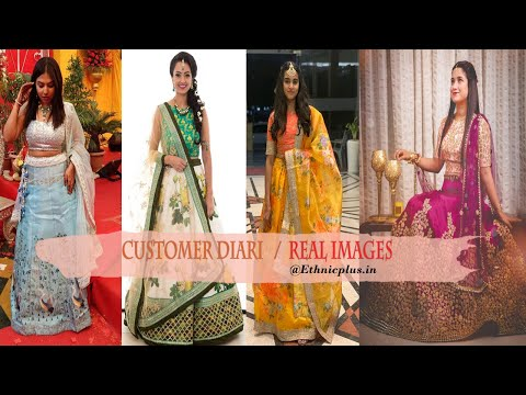 Shop For Latest Designer Bridal Lehenga Choli Online at Lowest Price | Ethnic Plus